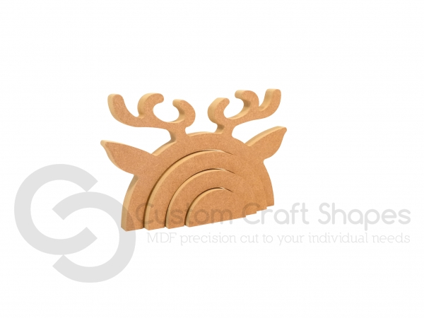 Reindeer Rainbow Stacker (18mm)