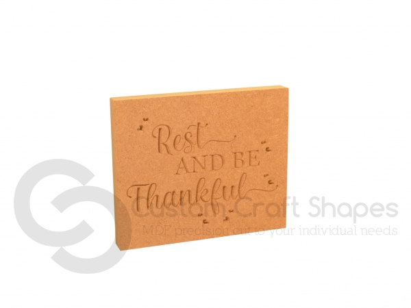 Rest and Be Thankful (18mm)