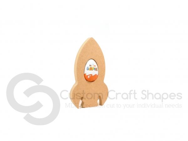 Rocket Kinder Egg Holder (18mm)