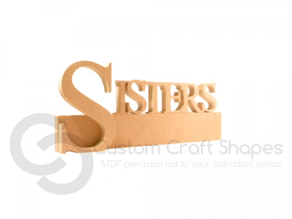 SISTERS Quote Block (18mm)