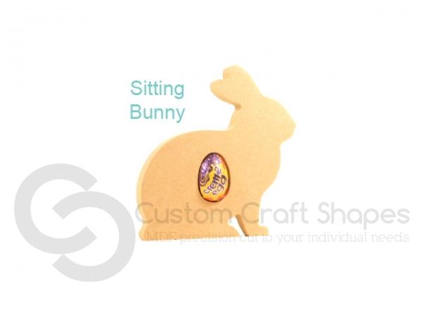 Sitting Rabbit Creme Egg Holder (18mm)