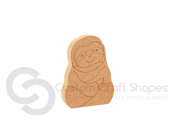 Sloth Shape (18mm)