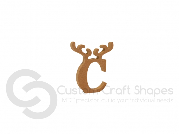 Small Reindeer Antler Letters (18mm)