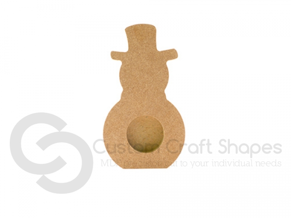 Snowman Tea Light Holder (18mm)