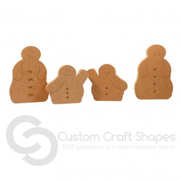 Blobby Snowmen (18mm)