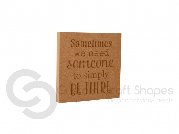 Sometimes we need someone to simply be there (18mm)