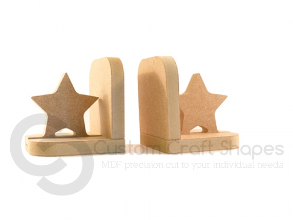 Mdf Star Bookends