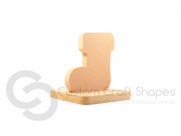 Stocking Shaped Stocking Holder (18mm)