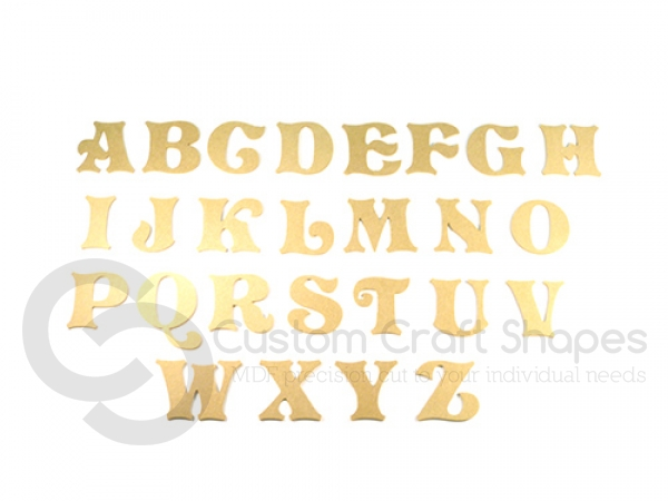 Storybook Font Individual Capital Letters (6mm)