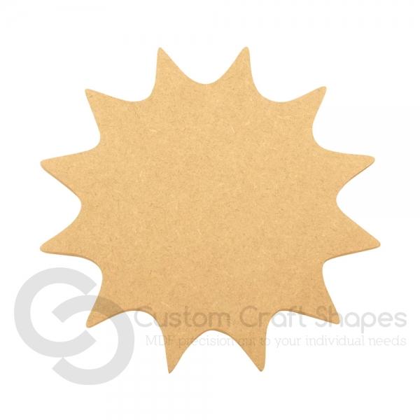 Sun Shape, 6mm
