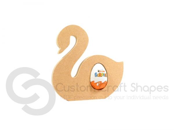 Swan Kinder Egg Holder (18mm)