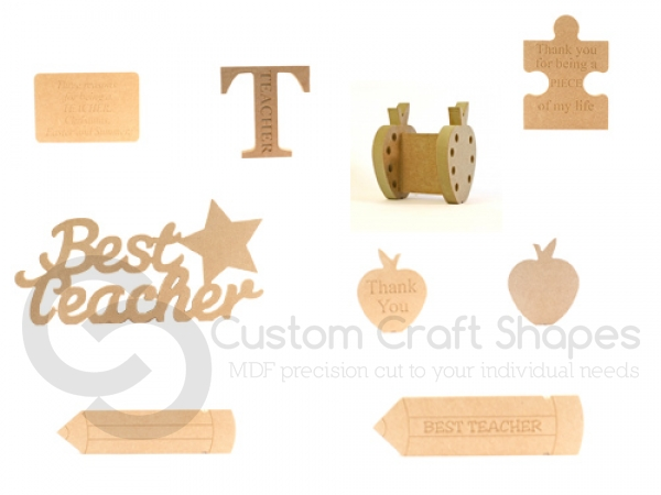 Teachers Gifts, Trial Bundle (18mm + 6mm)