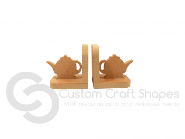 Teapot Bookends (18mm)