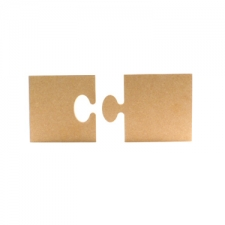 2 Piece Jigsaw Puzzle (18mm)