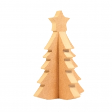 3D Christmas Tree (18mm)