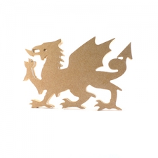 6mm Welsh Dragon - A3
