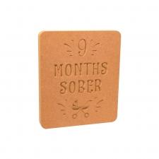 9 Months Sober (18mm)