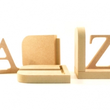 A-Z Bookends (18mm)