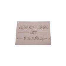 Adventures Are Memories (3mm)