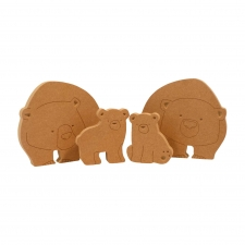 Bear Family (18mm)
