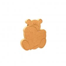 Bear Hug - Heart (18mm)