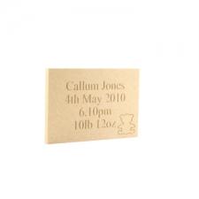 Birth Plaques (6mm)