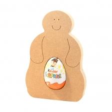 Blobby Snowman Kinder Egg Holder
