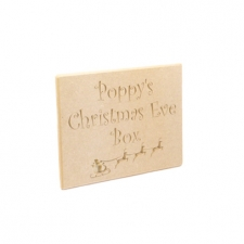 Christmas Eve Box Topper Plaques (6mm)