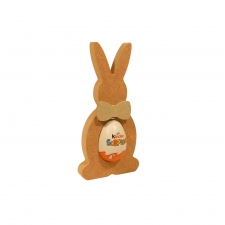 Bunny with a Bow Kinder Egg Holder (18mm)