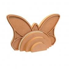 Butterfly Rainbow Stacker (18mm + 3mm)