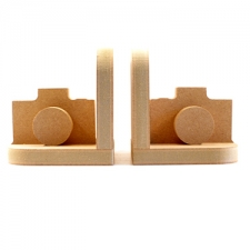 Camera Bookends (18mm)