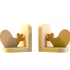Cartoon Bird Bookends (18mm)