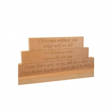 Christmas Without You Blocks, STACKING Version (18mm)