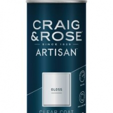 Clear Coat Gloss Spray, Craig & Rose