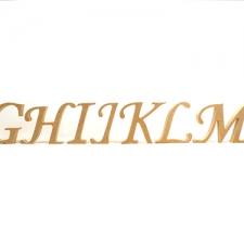 Corsiva Font Individual Freestanding Letters (18mm)