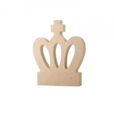 Crown Shape with Cross (6mm)