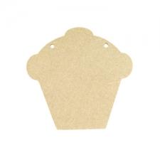 Cupcake Bunting Piece (6mm)