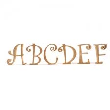Freestanding Letters, Curlz Font (18mm)