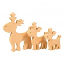 Cute Reindeer (18mm)