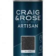 Diamond Silver Glitter Spray, Craig & Rose Paint