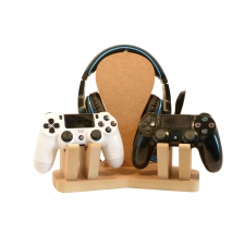 DOUBLE Controller with Headphones Stand (18mm)