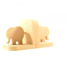 Elephant Bookends (18mm)