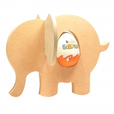 Elephant Kinder Holder with Slot in Ears (18mm)