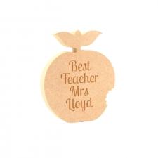 Engraved Apple (18mm)