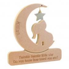 Elephant in a Moon 'Twinkle Twinkle Little Star...' (18mm)