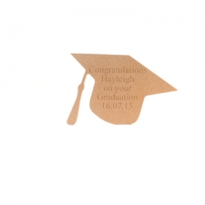 Engraved Graduation Cap (18mm)
