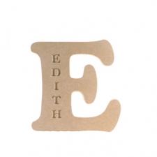 Engraved Letter, Cooper Black Font (Not freestanding) (18mm)