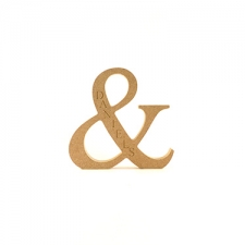 Engraved Ampersand, Times New Roman (18mm)
