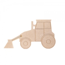 Engraved Tractor (18mm)