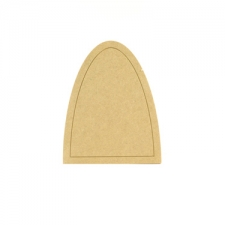 Fairy Door with outer groove (6mm)